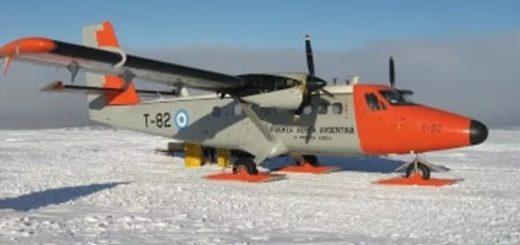 Un avión de la Fuerza Aérea se accidentó en la Antártida