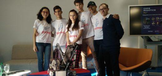Con un robot para limpiar el océano, los representantes de Misiones viajan a la Copa Robótica 2019
