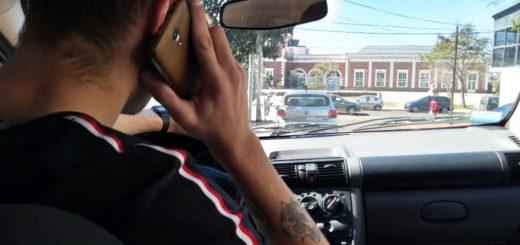 Conductores posadeños que usen el celular o GPS mientras manejan podrán ser multados