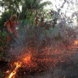 El gobierno de Brasil rechazó la ayuda del G7 para combatir los incendios en el Amazonas