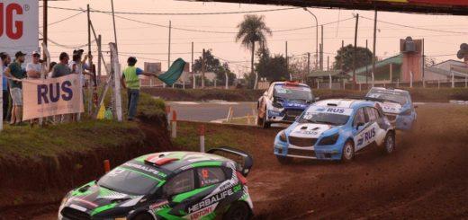 Posadas vibró con el Rallycross CARX y Nicolás Fuchs volvió a pisar fuerte en la Tierra Colorada