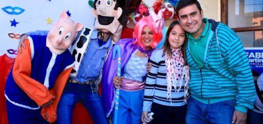 Eldorado: cientos de niños celebraron el Día del Niño con los personajes de Toy Story