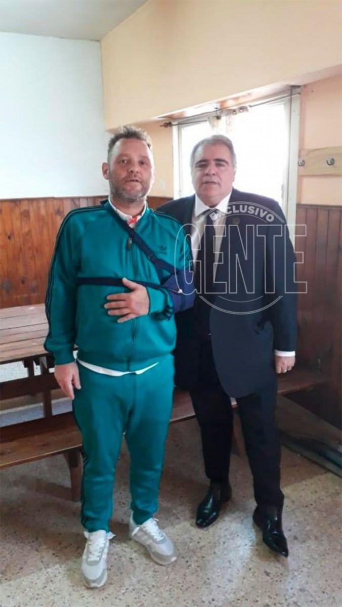 La primera foto de El Pepo desde su detención