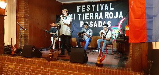 Difundieron los artistas ganadores del 15° Festival Mi Tierra Roja
