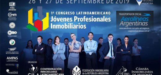 Todo listo para el I Congreso Latinoamericano de Jóvenes Inmobiliarios en Posadas