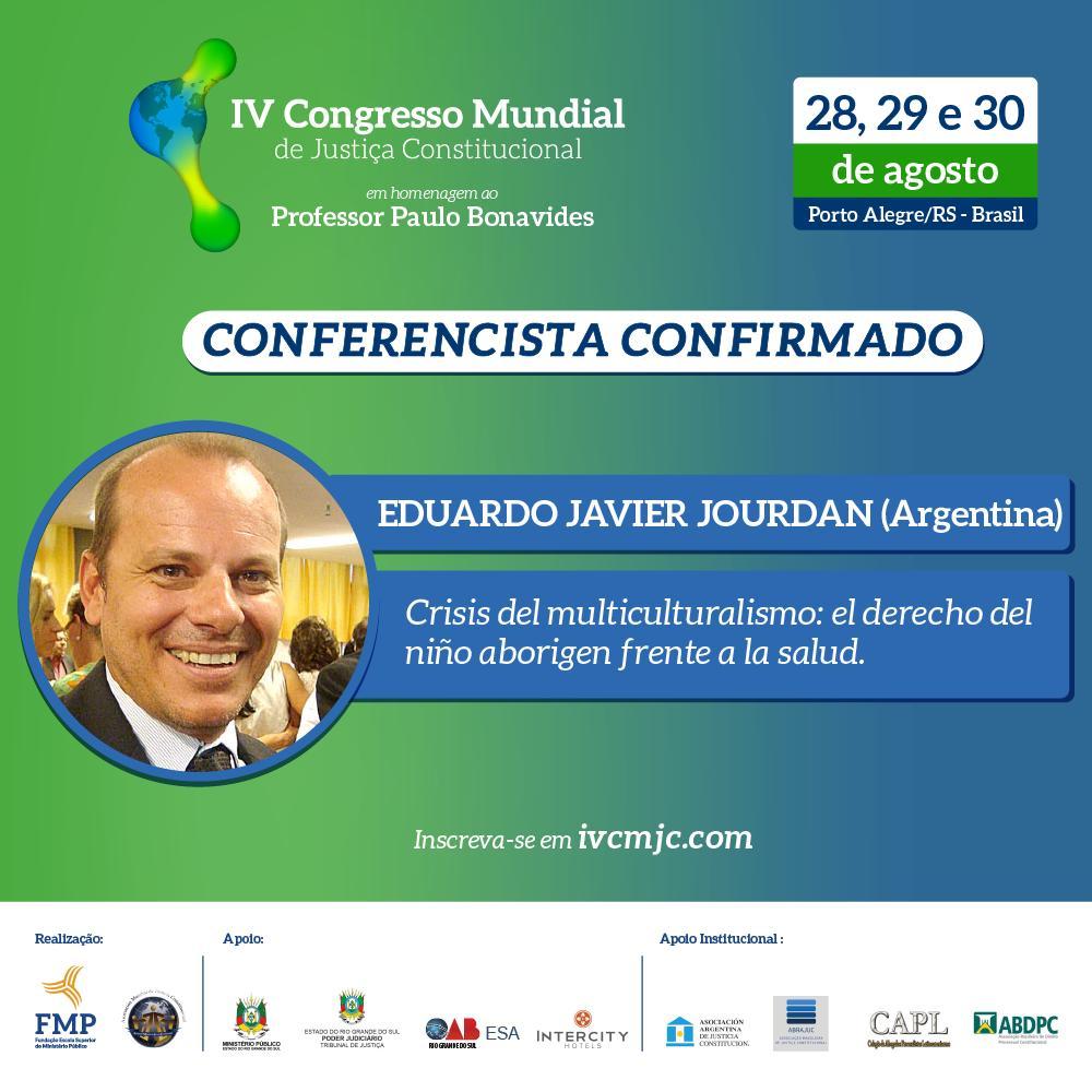 Juez misionero dictará conferencia en congreso mundial de derecho