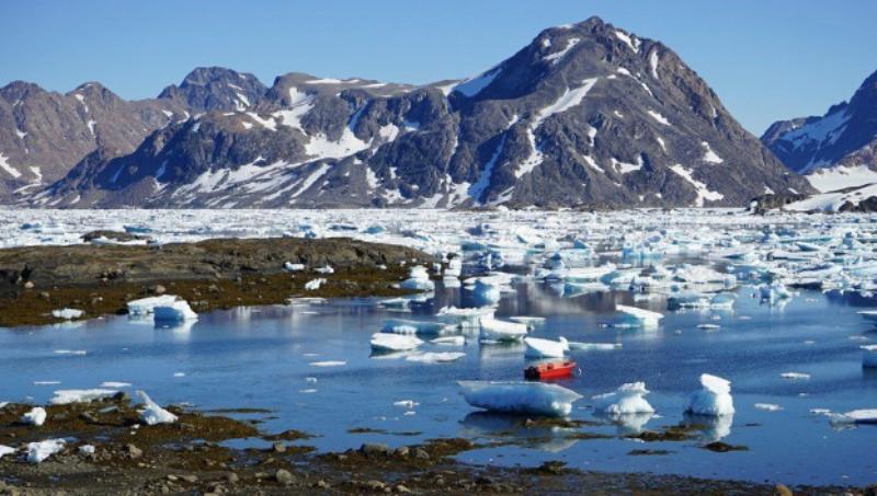Cambio climático: la capa de hielo de Groenlandia se derrite en tiempo record