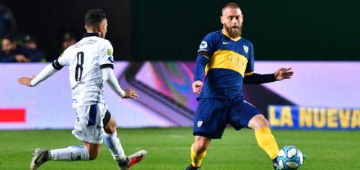 Debut y gol: De Rossi marcó su primer tanto con la camiseta de Boca