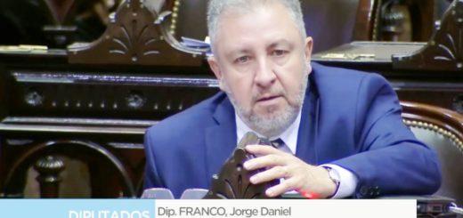 """Jorge Franco sobre el proyecto de moratoria para las Pymes: """"Queremos darle facilidad a la gente para que pague sus deudas"""""""