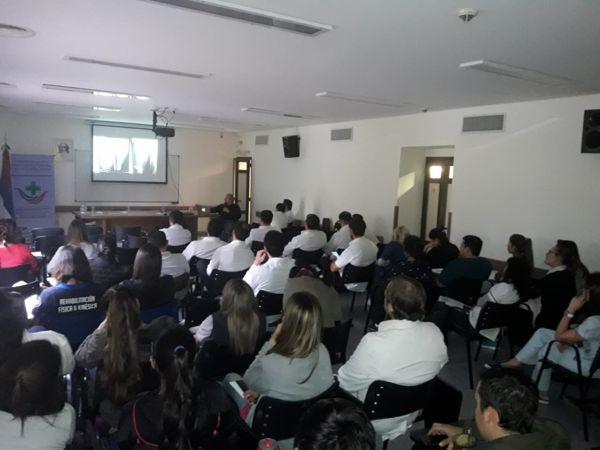 """Se realizó una jornada de traumatología en el Hospital Escuela de Agudos """"Dr. Ramón Madariaga"""""""
