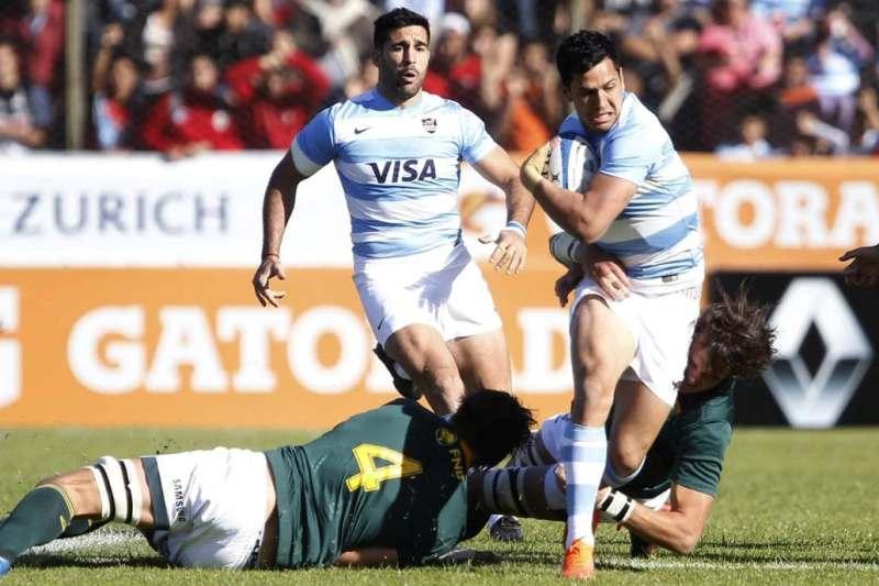 Rugby Championship: dura derrota de Los Pumas ante los Springboks en Salta