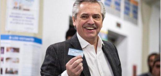 Alberto Fernández obtuvo el 47 por ciento de los votos y le sacó a Macri 15 puntos de ventaja