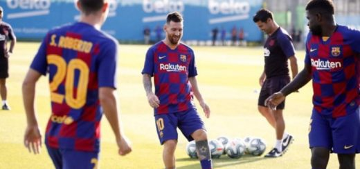 Messi fue dado de alta y estará en el debut del Barcelona en la Champions League