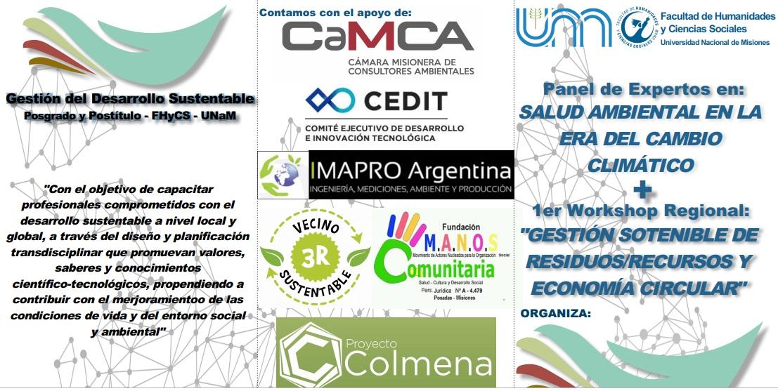 La CaMCA invita a actividades sobre estudio y reflexión de impacto ambiental en Posadas