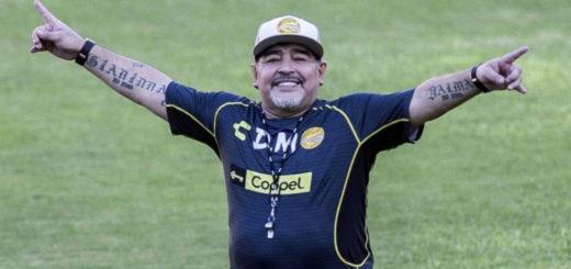 Maradona envió un mensaje a los hinchas de Gimnasia de La Plata