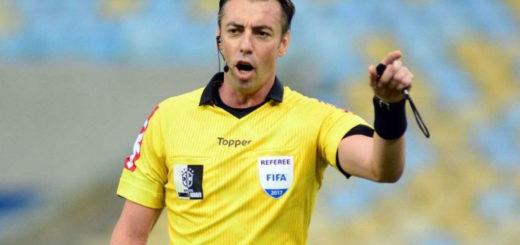 El brasileño Raphael Claus será el árbitro del primer Superclásico copero entre River y Boca