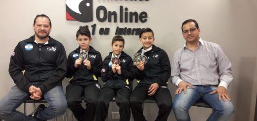 Promesas del taekwondo misionero lograron grandes resultados en el Campeonato Sudamericano
