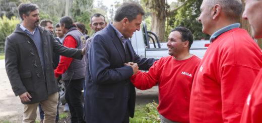 """Massa, en Miramar: """"Este Gobierno se quedó sin el respaldo de la gente"""""""