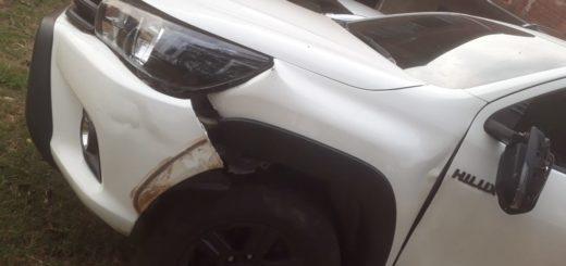 Bernardo de Irigoyen: acompañante de motociclista falleció tras chocar con una camioneta en Ruta Nacional 101