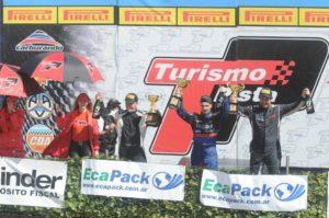 Badaracco hizo podio en el Turismo de Pista