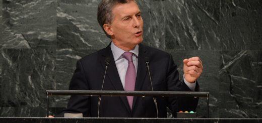 """Ante la ONU, Mauricio Macri pidió """"reanudar las negociaciones"""" por Malvinas"""