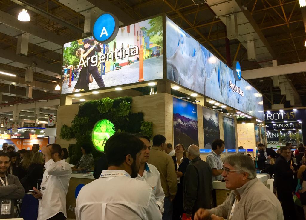 Cataratas se promociona en la Expo ABAV de San Pablo