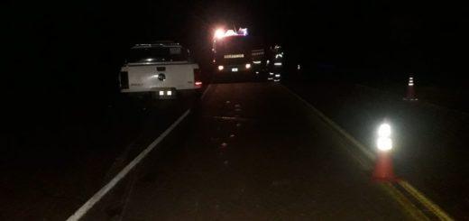 El Soberbio: motociclista perdió la vida tras impactar con una camioneta en la ruta Provincial Nº 13