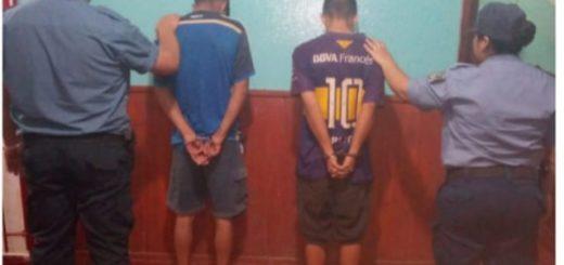 Policías recuperaron objetos robados en Hipólito Yrigoyen y hay dos detenidos