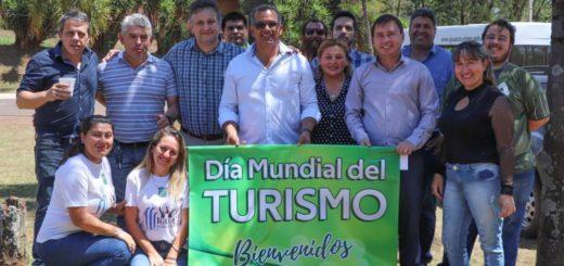 Iguazú agasajó a los turistas por el Día Mundial del Turismo
