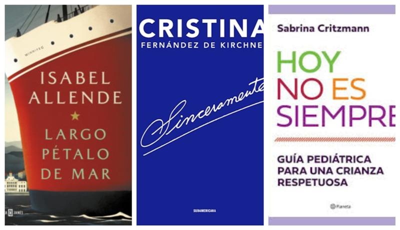 Las mujeres encabezan los rankings de libros más vendidos en el país