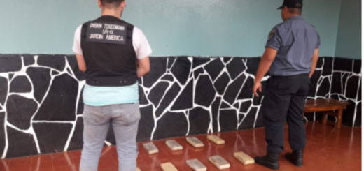 La Policía de Misiones incautó 10 panes de marihuana en Colonia Guaporaity