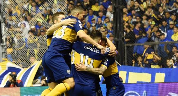 Boca venció a Estudiantes y es el único líder de la Superliga