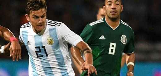 Argentina enfrenta a México en su segundo amistoso de la gira por Estados Unidos