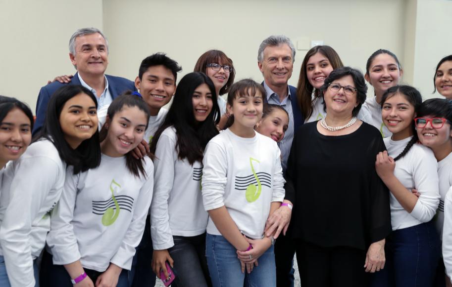 Macri: «La honestidad y la transparencia son valores innegociables»