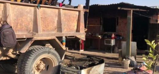 Salta: discutió con su esposa y prendió fuego la casa donde vivían