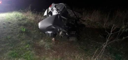 Accidente frontal en Entre Ríos: falleció un hombre de forma instantánea