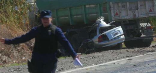 Tragedia en la ruta 40: cinco muertos en un brutal accidente