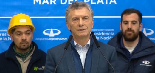 """Mauricio Macri: """"Sé que a muchos les sigue costando en el bolsillo, pero me estoy haciendo cargo y tratando de llevar alivio a las familias"""""""