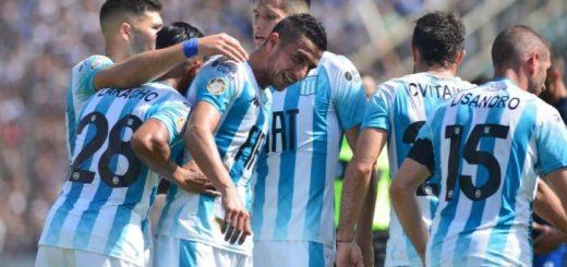 Racing opacó el debut de Maradona y venció a Gimnasia en La Plata