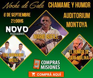 Los Hermanos Brítez celebrarán 10 años con el chamamé junto a Mario Bofill y el Gurí Molina...Adquirí aquí las entradas por Internet
