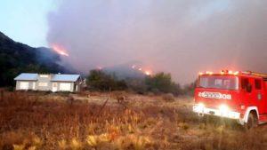Desesperante situación en Córdoba ante el avance de los incendios forestales: hay más de 350 hectáreas quemadas