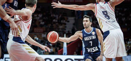 Mundial de Básquet: Argentina superó a Rusia, ganó su grupo y el viernes jugará con Venezuela por cuartos de final