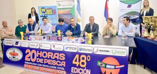El Pirá Pytá presentó la 48° edición de las 20 Horas de Pesca con devolución total y embarcada