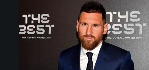 Lionel Messi fue elegido como el mejor jugador del año por la FIFA