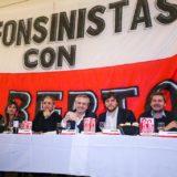 """María Losada participó de la reunión de Alberto Fernández con radicales alfonsinistas, """"defendiendo la unidad de los argentinos"""""""