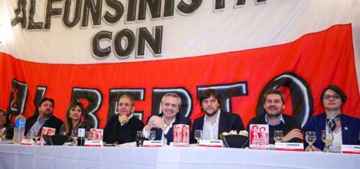 Closs acompañó a Alberto Fernández en la reunión con radicales alfonsinistas
