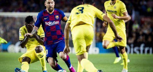 Preocupación en Barcelona: Messi salió con una molestia en el partido frente al Villareal
