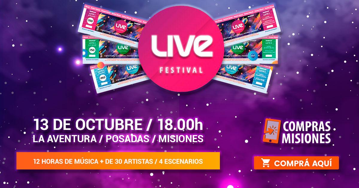 Live Festival y la hora del Trap…Flavio te está preparando 12 horas de música en La Aventura… Adquirí aquí los pases por Internet…