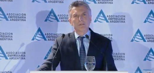 """""""Las conquistas que alcanzamos las debemos defender todos juntos"""", dijo Macri en el cierre de la IV Jornada de la Asociación Empresaria Argentina"""
