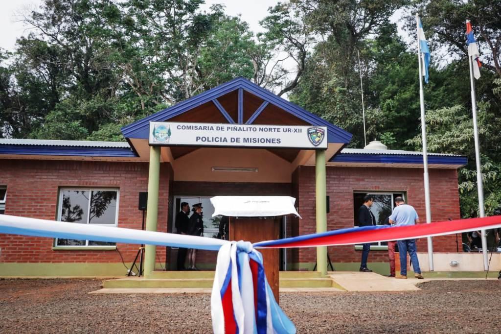 Passalacqua inauguró una comisaría en Piñalito Norte
